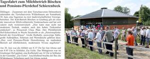 Tagesfahrt zum Pensions-Pferdehof Schierenbeck